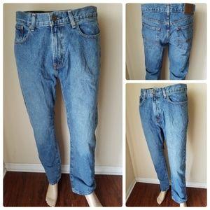 Tommy Hilfiger Classic Fit Medium Wash Men's Jeans